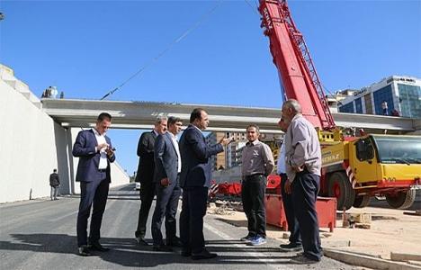 Şanlıurfa'daki köprülü kavşak projeleri tamamlanıyor!