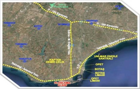 Marmara Ereğlisi liman amaçlı imar planı askıda!