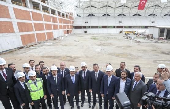 Muharrem Kasapoğlu: İzmir'in statları hızla ilerliyor!