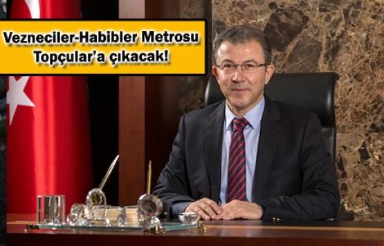 Vezneciler-Habibler Metro Hattı'nın projesi tamam!