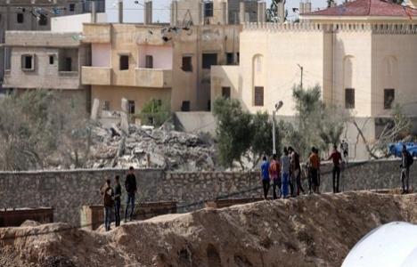 Gazze'de 41 evin