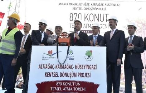 Mamak Belediyesi Kentsel Yenileme projesinin temellerini attı!