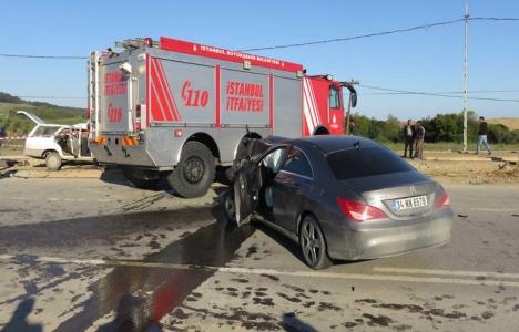 Riva'daki trafik kazasında
