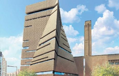 Londra Tate Modern Müzesi hizmete açıldı!