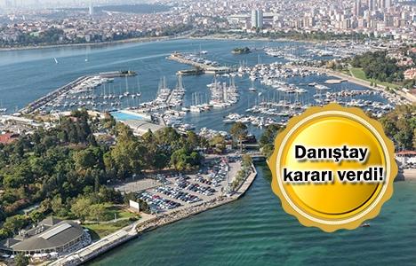 Fenerbahçe Kalamış Yat Limanı'nın yapılaşmasına itiraz!