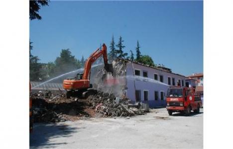 Tokat Meydan Çarşısı Projesi yıkım