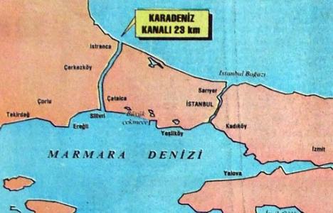 1991 yılında alternatif Boğaz: Kanal İstanbul!