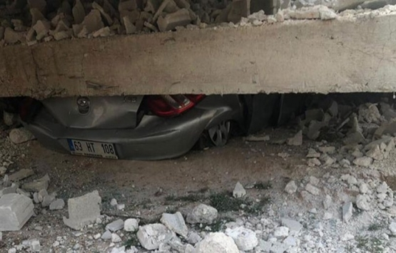 Şanlıurfa Viranşehir'de 2 katlı ev çöktü: 1 ölü, 2 yaralı!
