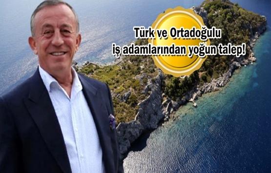 Ali Ağaoğlu Marmaris'teki adasını 15 milyon dolara satışa çıkardı!