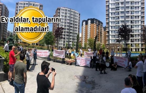 Beylikdüzü 11. Mahalle mağdurlarından protesto gösterisi!