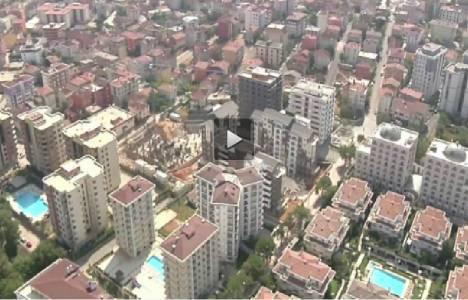 Diamond Home Taşdelen Evleri'nin havadan görüntüleri!