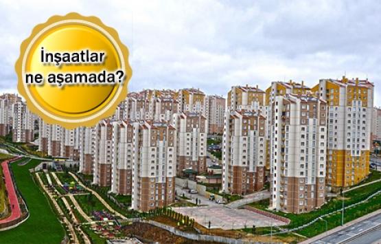 TOKİ'nin İstanbul sosyal konut projelerinde son durum!