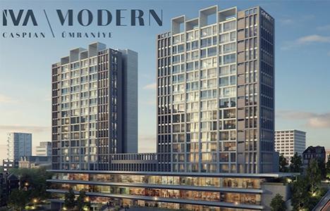 İva Caspian Modern'de iş, yaşam ve sosyal alanlar bir arada!