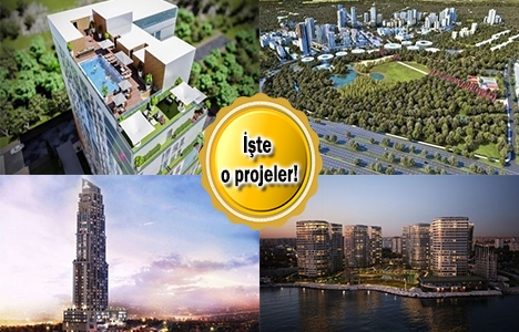 İstanbul'da otel konseptli 13 proje!
