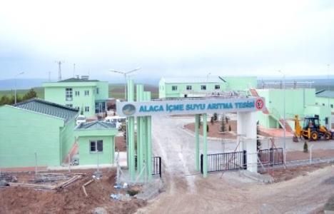 Çorum Alaca'da yeni arıtma tesisi faaliyete geçti!
