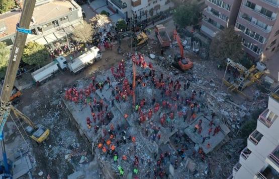 İzmir depreminde yıkılan Rıza Bey Apartmanı'nın fenni mesulü için tutuklama kararı!