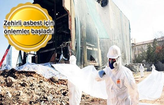 Binaların yıkımında asbest tehdidine son!
