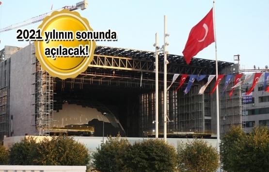 Yeni AKM inşaatının yüzde 70'i tamamlandı!