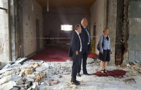 Martin Erdmann: Meclis binası ağır tahribata uğradı!