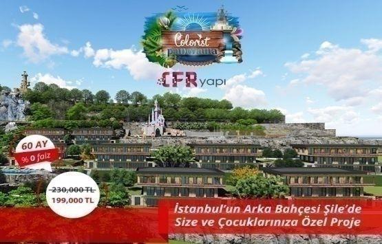 Colorist Panorama Şile'de 199 bin TL'den başlayan fiyatlarla!