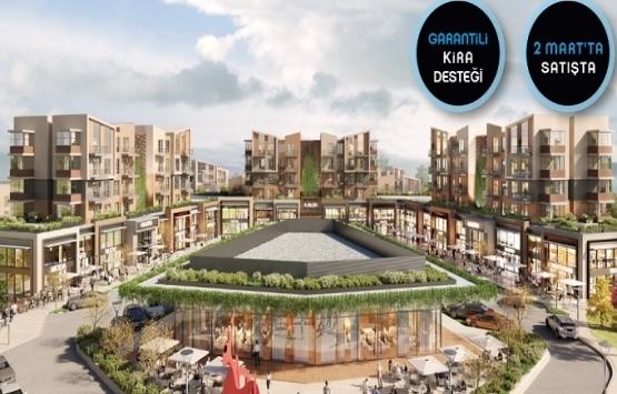 Nef Çekmeköy'de ticari alanlara garantili kira desteği!