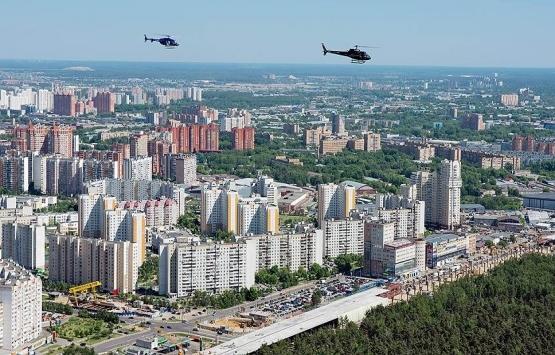 Rusya'da en fazla konut nerede yapıldı?