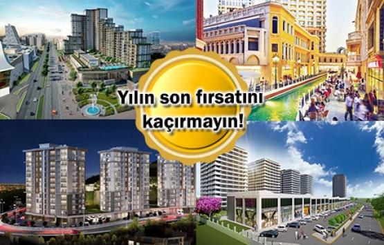 Kampanyalı konut projeleri Aralık 2018!