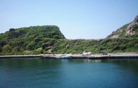Sivriada'nın  iskele