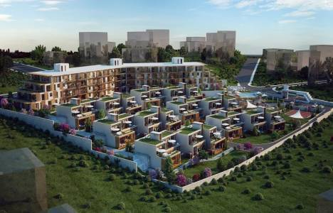 QBahçe projesi evleri erken teslim etti!