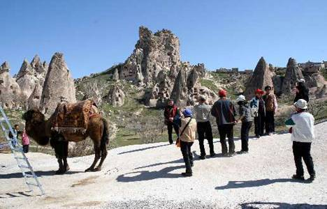 Kapadokya'yı 4 ayda 656 bin turist ziyaret etti!