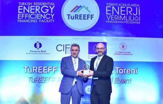 Tema İstanbul en çevreci ve enerji tasarruflu proje seçildi!