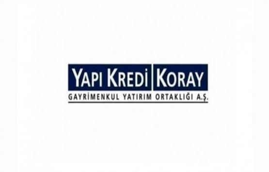Yapı Kredi Koray GYO'nun esas sözleşmesi tescil edildi!