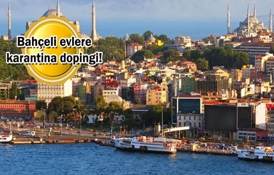 İstanbul'da müstakil konutlara salgın piyangosu!