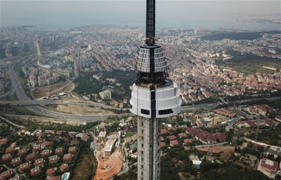 Küçük Çamlıca TV-Radyo Kulesi giydirilmeye başlandı!