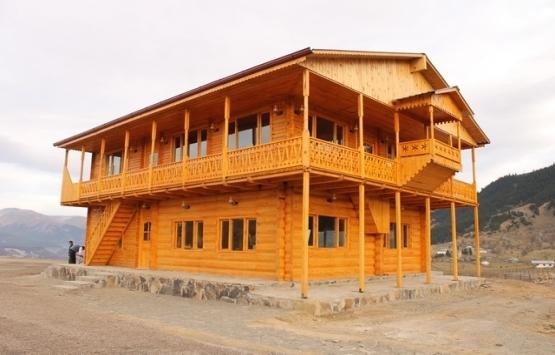 Bursa İnegöl'e geleneksel Şavşat evi yapılacak!