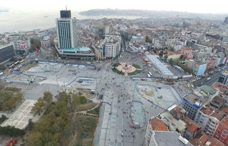 Taksim Meydanı düzenleme çalışmalarında son durum!