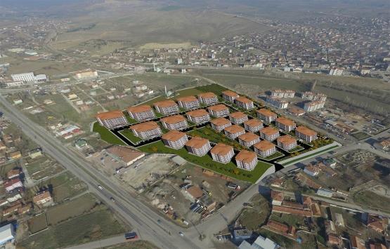 Suluova'da sosyal konutlar teslim edildi!