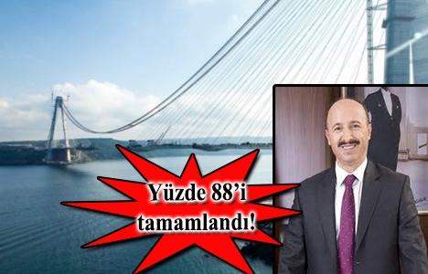 Cahit Altunay, Yavuz Sultan Selim Köprüsü'nü inceledi!