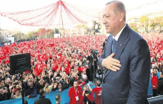 Cumhurbaşkanı Erdoğan Manisa