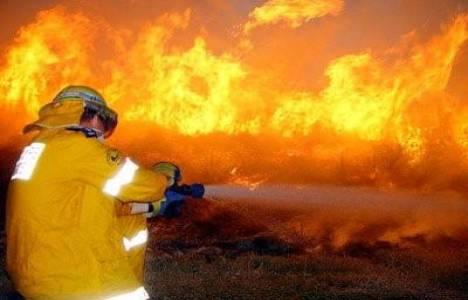 İzmir'de evde yangın çıktı!