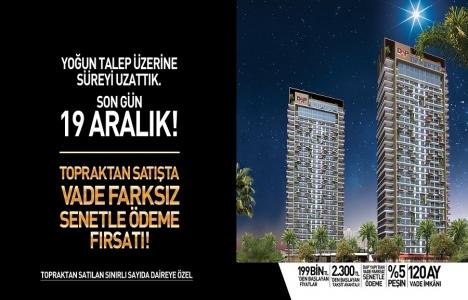 Bornova DAP İzmir'de büyük fırsat! Senetle ödeme kampanyası uzadı!