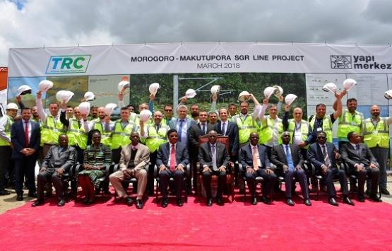 Yapı Merkezi, Tanzanya'da dev projenin temelini attı!