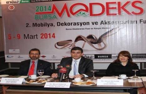 Bursa MODEKS 2014 Fuarı kapılarını açıyor!