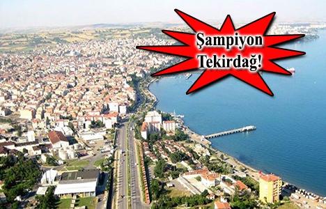 Tekirdağ konutta İstanbul'a