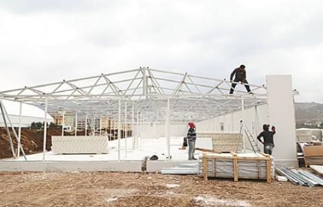 UNICEF Hatay'a prefabrik okul yaptırıyor!