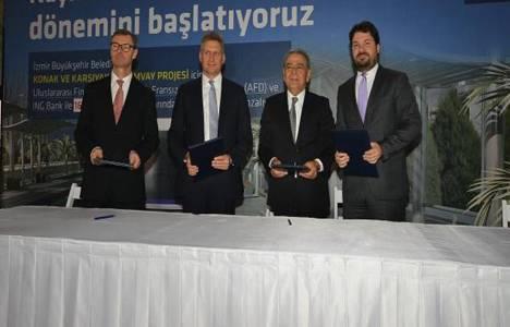 İzmir'in tramvayları için 165 milyon euroluk imza atıldı!