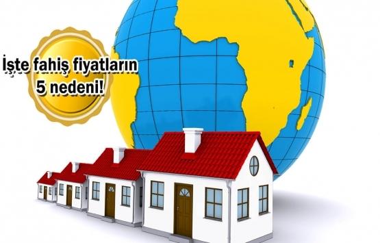 Türkiye'de ev fiyatları neden yükseliyor?