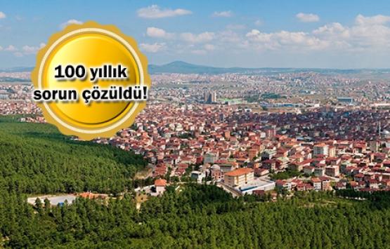 Sultanbeyli'de ilk tapular verildi!