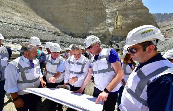 Yusufeli Barajı'nın inşaatında son durum!