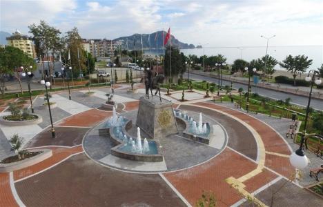 Alanya Alaeddin Keykubat Parkı yenilendi!